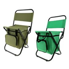 Multi-Function Folding Chair with Cooler Bag for Fishing, Beach, Camping