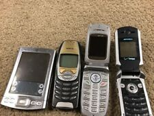 "LOT  4 Cell Phone lot: Parts- Repair""AS IS "" UNTESTED Flip Phones +PALM TUNGSTEN"