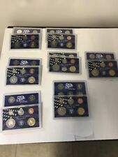 United States Mint Proof Sets Lot Of 7 2001-2004/2006-2008 S No Boxes No CoA