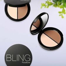 2 Colors Foundation Magic Embellish Contour Face Shadow Powder Natural