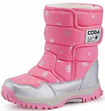 DADAWEN Boy's Girl's Outdoor Waterproof Cold Weather Snow Boots. STRONG PRODUCT.