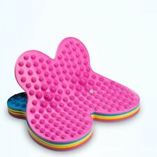 Batterfly Shaped Reflective Foot Massager Eliminate Tension Acupuncture Pad