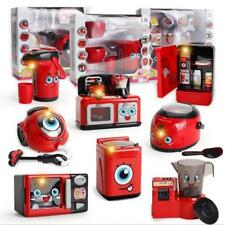 Kid Pretend Role Play Game Toys Kitchen Electic Home Appliances Machine Toy Gift