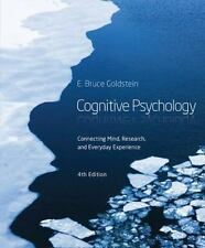 Cognitive Psychology 4th Edition 2014 ISBN 9781285763880 E Bruce Goldstein