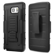 Rugged Rubber Hybrid Protective Hard Case Cover For Samsung Galaxy Note 2 3 4 5