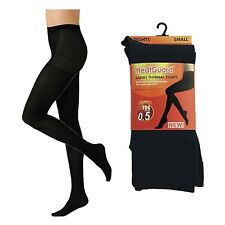 LADIES THERMAL INSULATED WARM TIGHTS BLACK SAME DAY DISPATCH UK