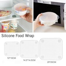 Kitchen Tools Reusable Silicone Food Wraps Seal Vacuum Cover