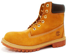 Timberland  JUNIOR 6-INCH PRM WATERPROOF BOOTS TBO12909 'WHEAT NUBUCK' sz 4.5-7