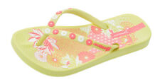 Girls Ipanema Flip Flops Anatomica Lovely Kids Beach Sandals - Lemon - See Sizes