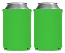 Margarita Neon Green Blank Foam Can Coolers Beverage Insulator Pack Party Favors
