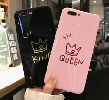 Crown Phone Case For Iphone X 8 7 6s King Back Cover Love Heart Soft Tpu Cases