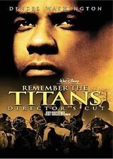 Remember the Titans (DVD, WS, Director's Cut) Danzel Washington, Will Patton  LN