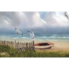 Wall Decal entitled Coastal Seagulls