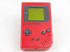 Official Nintendo Gameboy Original Console Red *Graded*