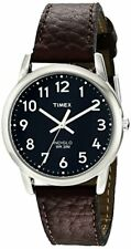 Timex Corporation Mens Easy Reader Brown Leather Strap Watch- Pick SZ/Color.