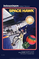 102956 Space Hawk Intellivision Box Art Video Gaming Decor WALL PRINT POSTER UK