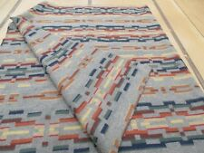 PENDLETON FABRIC REMNANT  UNNAPPED  MED. WEIGHT  100% WOOL.  PAINTED HILLS