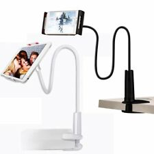 Flexible Clip Mobile Cell Phone Holder Lazy Bed Desktop Bracket Mount Stand MS