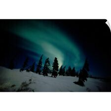 Wall Decal entitled Canada, Manitoba, Churchill, Northern Lights, Aurora