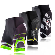 Road Bike Shorts Padded Men Bicycle Cycling Sports Tights Race Fit Cycle Wear