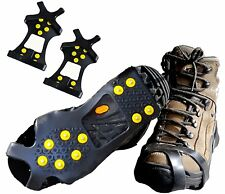 Pro Traction Cleats For Climb Ice Snow Anti-slip Grips Over Footwear S/M/L/XL