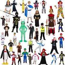 Boys Fancy Dress World Book Week Day School Days Kids Party Super Hero Costume