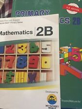 Primary Mathematics Textbook 2B US Edition by Singapore Math