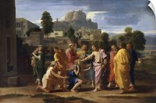 Wall Decal entitled The Blind of Jericho, or Christ Healing the Blind, 1650