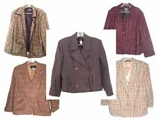 Requirements Blazer Jackets Wool Blends Business Suit Jackets Size 8 to 18
