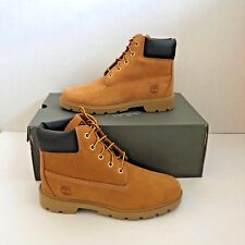 "Timberland 6"" Classic Boots Wheat Waterproof Kids (Juniors) Size - TB10960"