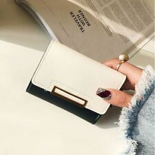 PU Leather Short Bag Female Purse Card Holder Wallet Women Wallet Coin Purse