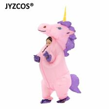 JYZCOS 2018 New Kids Boy Girl Inflatable Unicorn Costume Animal Themed Blow Up