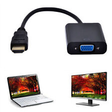 HDMI Male to VGA Female Video Cable Cord Converter Adapter For Laptop DVD