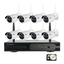 Wireless Home Camera Security System with Hard Drive