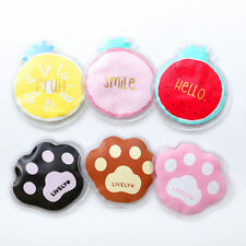 Summer Mini Portable PVC Ice Pack Cooler Bags Fresh Fruit Paw Cute Cold Compress