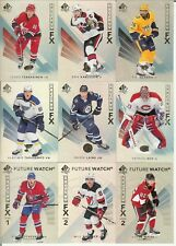 2017-18 UD SP Authentic Inserts You Pick Rookie Year - Moments- Red - Spectrum