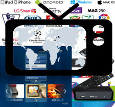 WORLD IPTV VIP 4K SUBSCRIPTION 75000+ LIVE CHANNELS & VOD & XXX MAG Smart TV E2