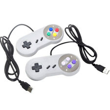 USB Retro Super Controller For SF SNES PC Windows Mac Game Accessories XS FB