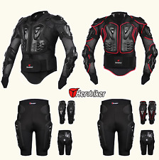 Motorcycle Body Jacket Suit Moto Racing Protective Armor Gear Full Clothing Set