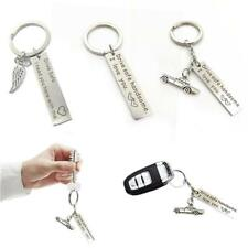 Boy Trucker Key Chains Pendant Stainless Steel Drive Safe Handsome Keyring