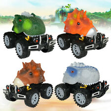 Exquisite Simulation Dinosaur Model Mini Pull Back Car Cool Gift & Toys For Kids