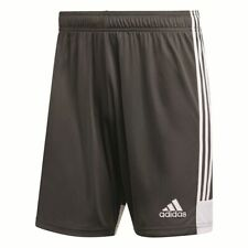 Adidas Football Soccer Tastigo 19 Mens Sports Training Shorts Grey White