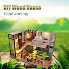 3D Wooden Doll House Puzzle