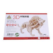 DIY Toys 3D Wooden Jigsaw Puzzle Assembly Handmade Wooden Model