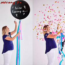 Gender Reveal latex balloons blue pink Confetti Latex Balloon for baby shower