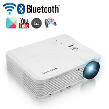 Android Wifi Bluetooth Home Theater 1080P Video Projector Wireless Movies HDMI
