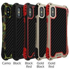 R-Just Metal Waterproof Shockproof Armor Case For iPhone 6 7 8 X XS Max XR Cover