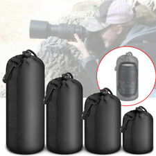 Neoprene Camera Lens Pouch Soft Bag Protector Case, For Canon Nikon, Sony DSLR