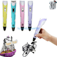 3D Printing Pen 2nd Crafting Doodle Drawing Arts Printer Modeling PLA/ABS TP