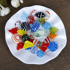 1/5/10Pcs Vintage glass sweets wedding party candy Christmas decorationSN